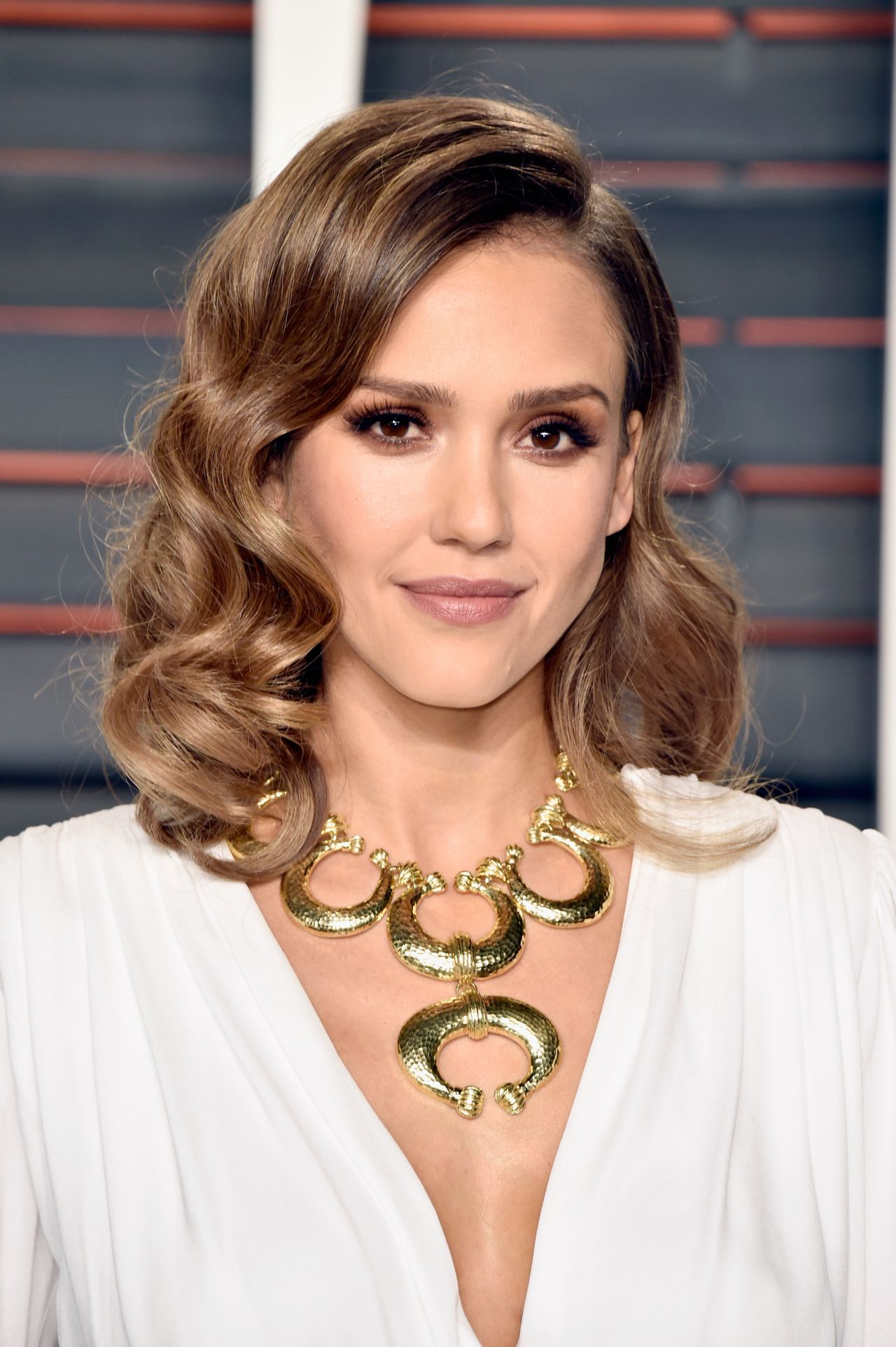 Jessica Alba Vanity Fair Oscar 2016 Party In Beverly