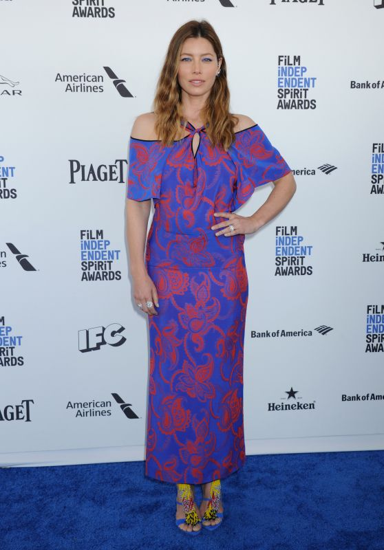 Jessica Biel – 2016 Film Independent Spirit Awards in Santa Monica, CA