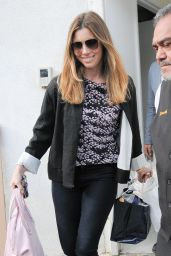 Jessica Biel Casual Style - Shopping in Beverly Hills 2/26/2016