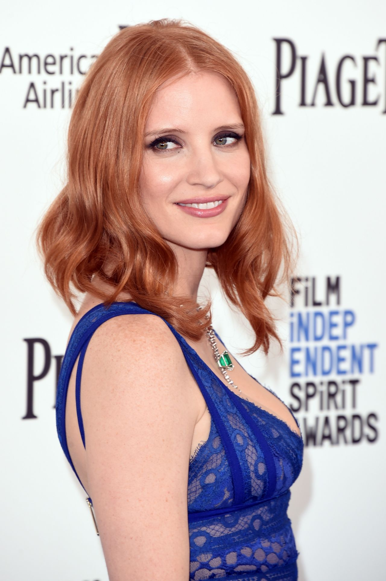 Jessica Chastain 2016 Film Independent Spirit Awards In