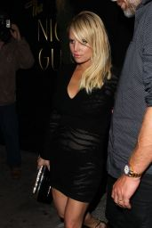 Jessica Simpson Night Out - at The Nice Guy in West Hollywood 2/19/2016