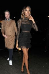 Jourdan Dunn – 'Vogue 100 – A Century of Style' in London, February 9, 2016