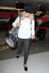 Julianne Hough at LAX Airport 2/19/2016