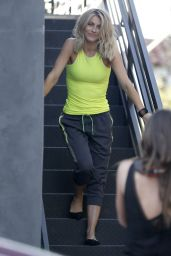 Julianne Hough - Doing a Photoshoot in West Hollywood, February 2016