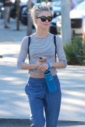 Julianne Hough Street Style - West Hollywood 2/9/2016