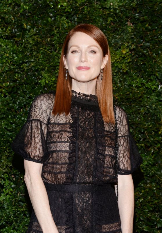 Julianne Moore – Chanel and Charles Finch Oscar Party in Los Angeles, CA 2/27/2016