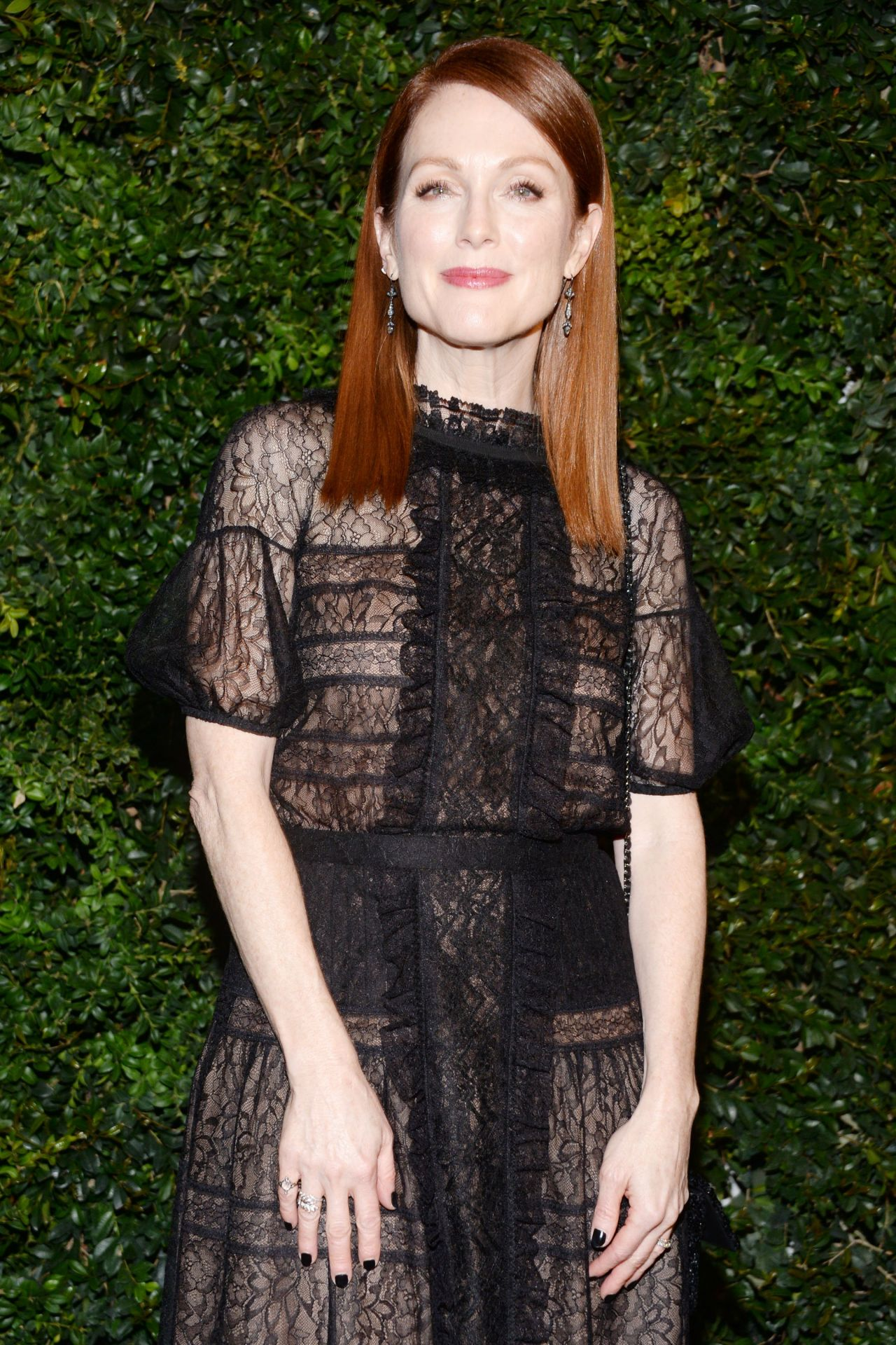 Julianne Moore – Chanel and Charles Finch Oscar Party in ...