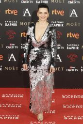 Juliette Binoche - 2016 Goya Awards in Madrid