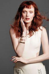 Karen Elson - Photo Shoot for Harper