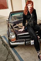 Karen Elson - Photo Shoot for Harper