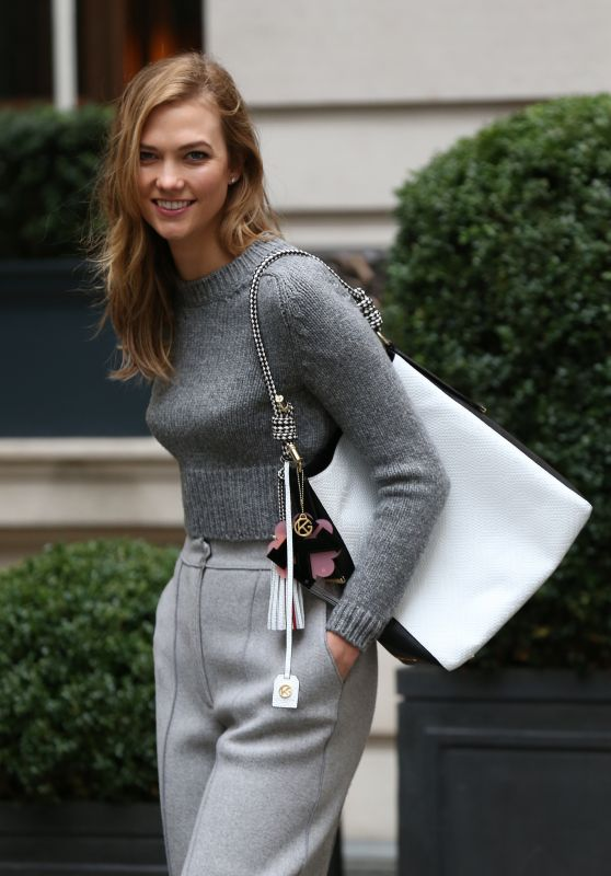 Karlie Kloss at Rosewood Hotel in London 2/21/2016