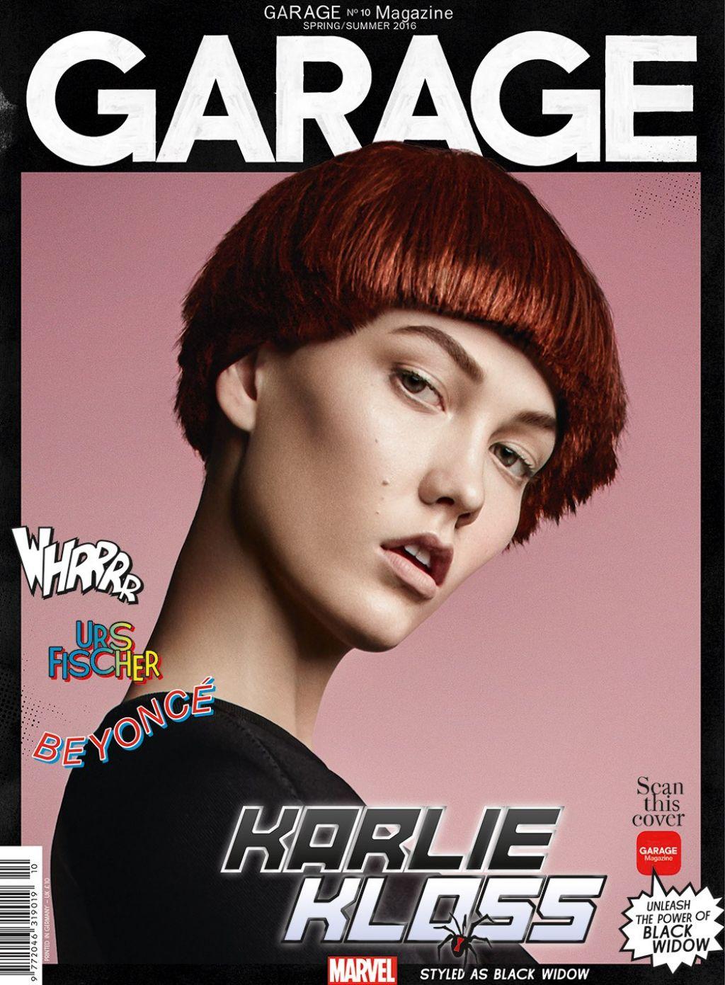 Karlie Kloss - Garage Magazine No. 10 Spring/Summer 2016