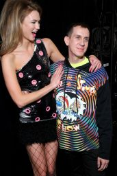 Karlie Kloss - Jeremy Scott Fall 2016 Fashion Show - NYFW 2/15/2016