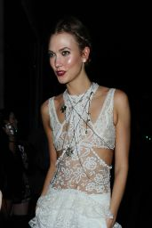 Karlie Kloss Night Out Style - Tape Nightclub in London, UK 2/24/2016