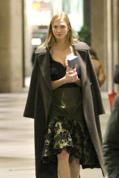 Karlie Kloss - Out in Milan, Italy 2/25/2016
