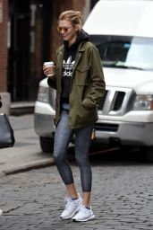 Karlie Kloss Street Style - Out in New York City 2/10/2016