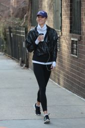 Karlie Kloss Street Style - Out in NYC 2/2/2016