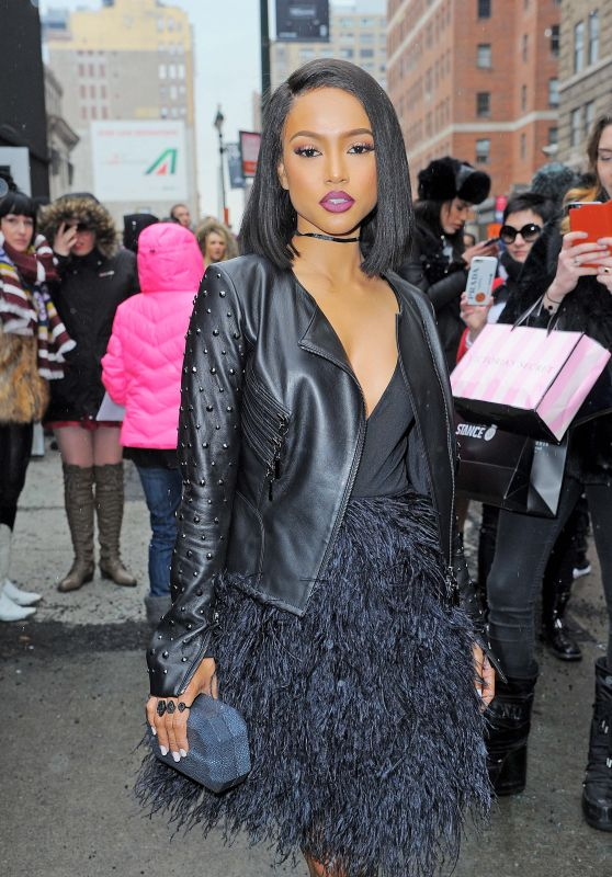 Karrueche Tran - NYFW in New York 2/15/2016