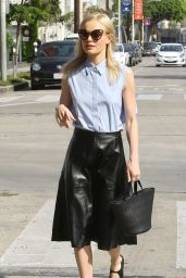 Kate Bosworth Casual Stye - Out in Los Angeles, CA 2/26/2016