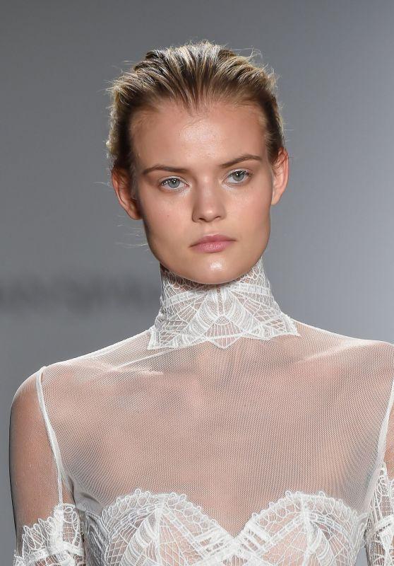 Kate Grigorieva - Jonathan Simkhai Fall 2016 Show at New York Fashion Week 2/17/2016