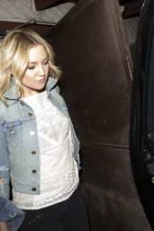 Kate Hudson - Leaving Pace Italian Restaurant in Los Angeles, February 2016