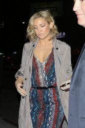 Kate Hudson Night Out Style -  at Nice Guy in Hollywood 2/5/2016