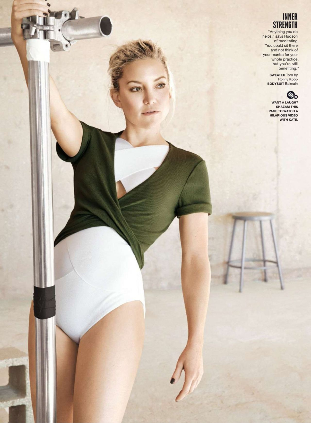 Kate Hudson Self Magazine March 2016 Issue And Pics