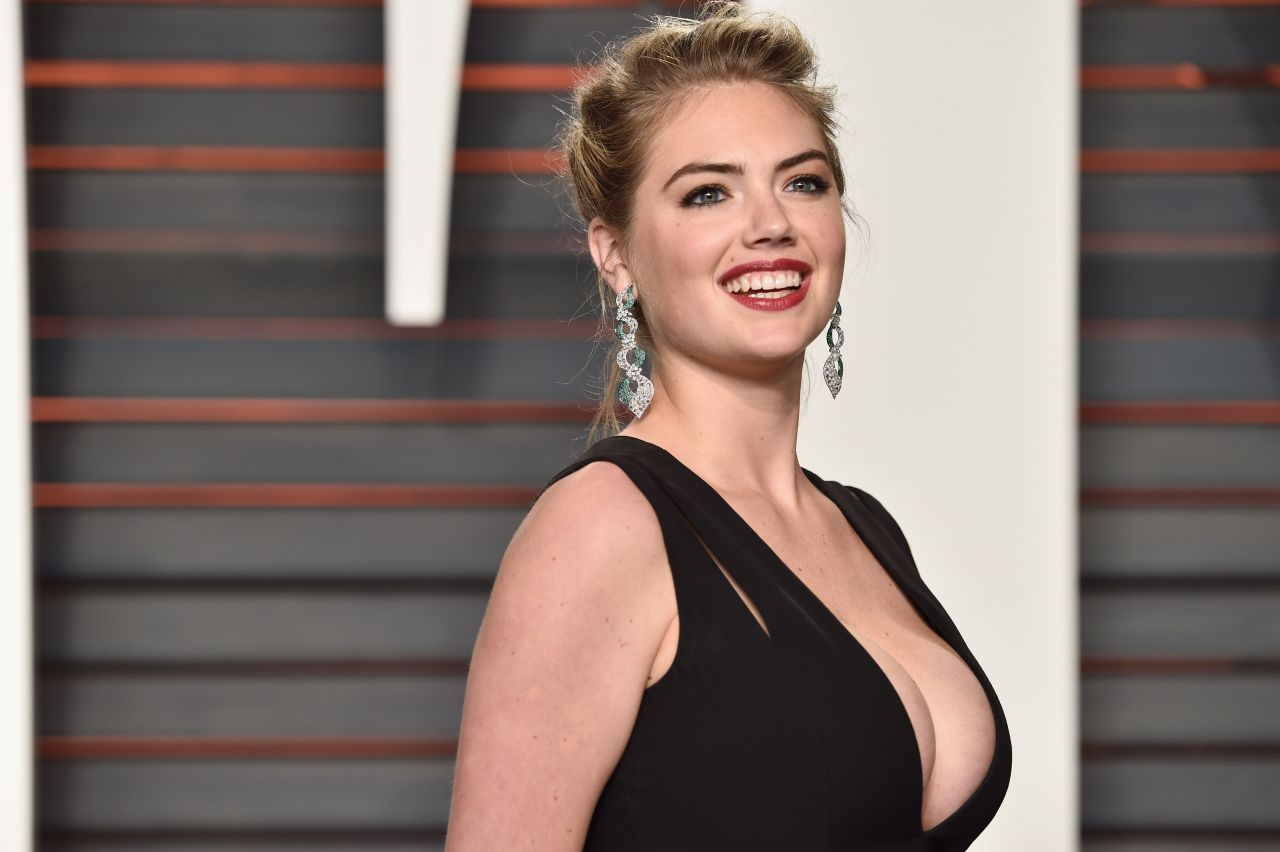 KATE UPTON at Vanity Fair Oscar 2016 Party in Beverly