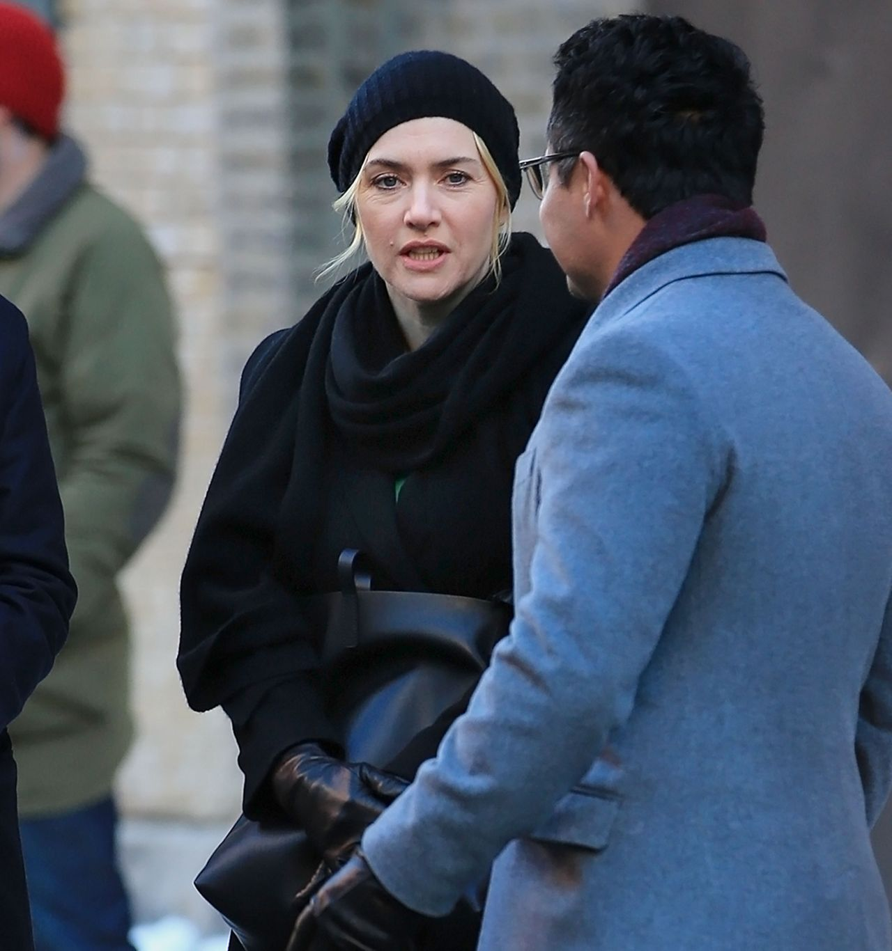 Kate Winslet - Snow Scene For Collateral Beauty In New -9288