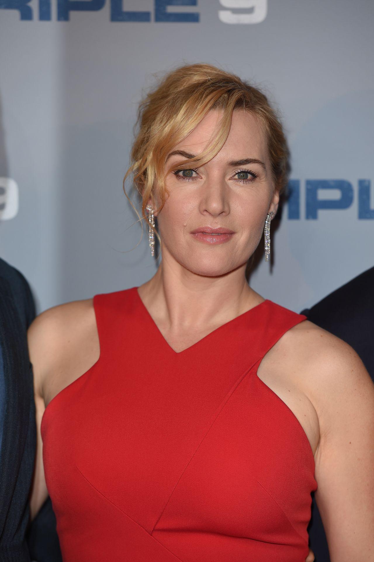 Kate Winslet - 'Triple 9' Special Screening in London Kate Winslet