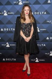 Katharine McPhee – Delta Airlines Pre-Grammy Party 2/13/2016