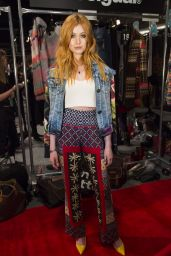 Katherine McNamara - Desigual Fall 2016 Fashion Show - New York Fashion Week 2/11/2016