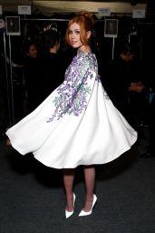 Katherine McNamara - Tadashi Shoji Fall 2016 Fashion Show - NYFW 02/12/2016