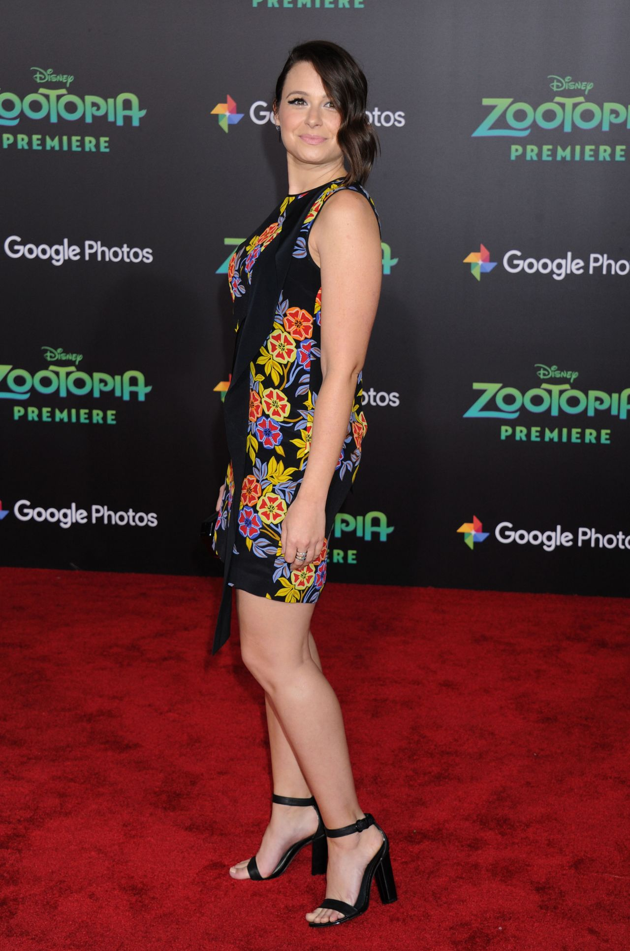 Katie Lowes Zootopia Premiere In Hollywood Ca