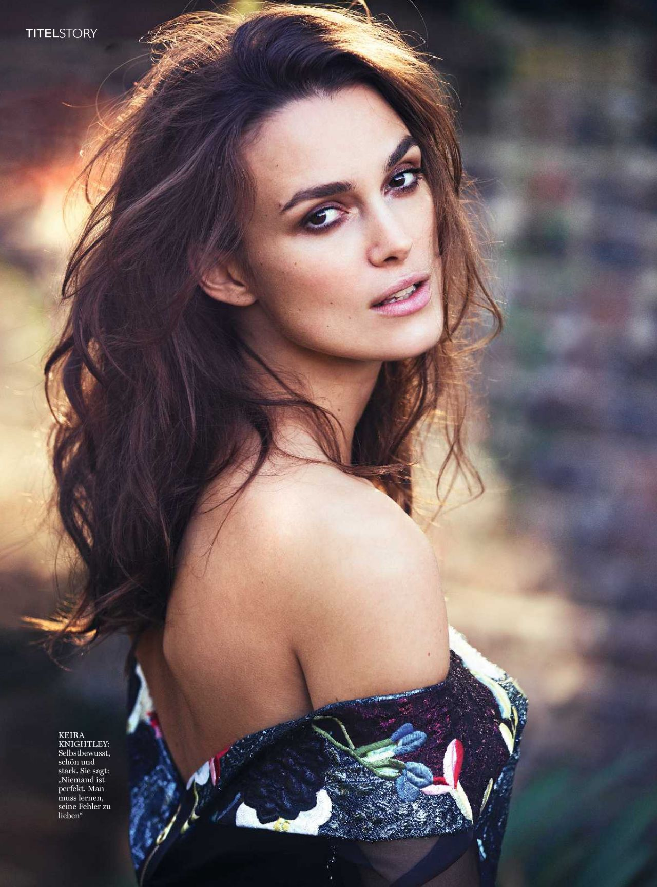 Keira Knightley – InStyle Magazine Germany March 2016 Issue Keira Knightley