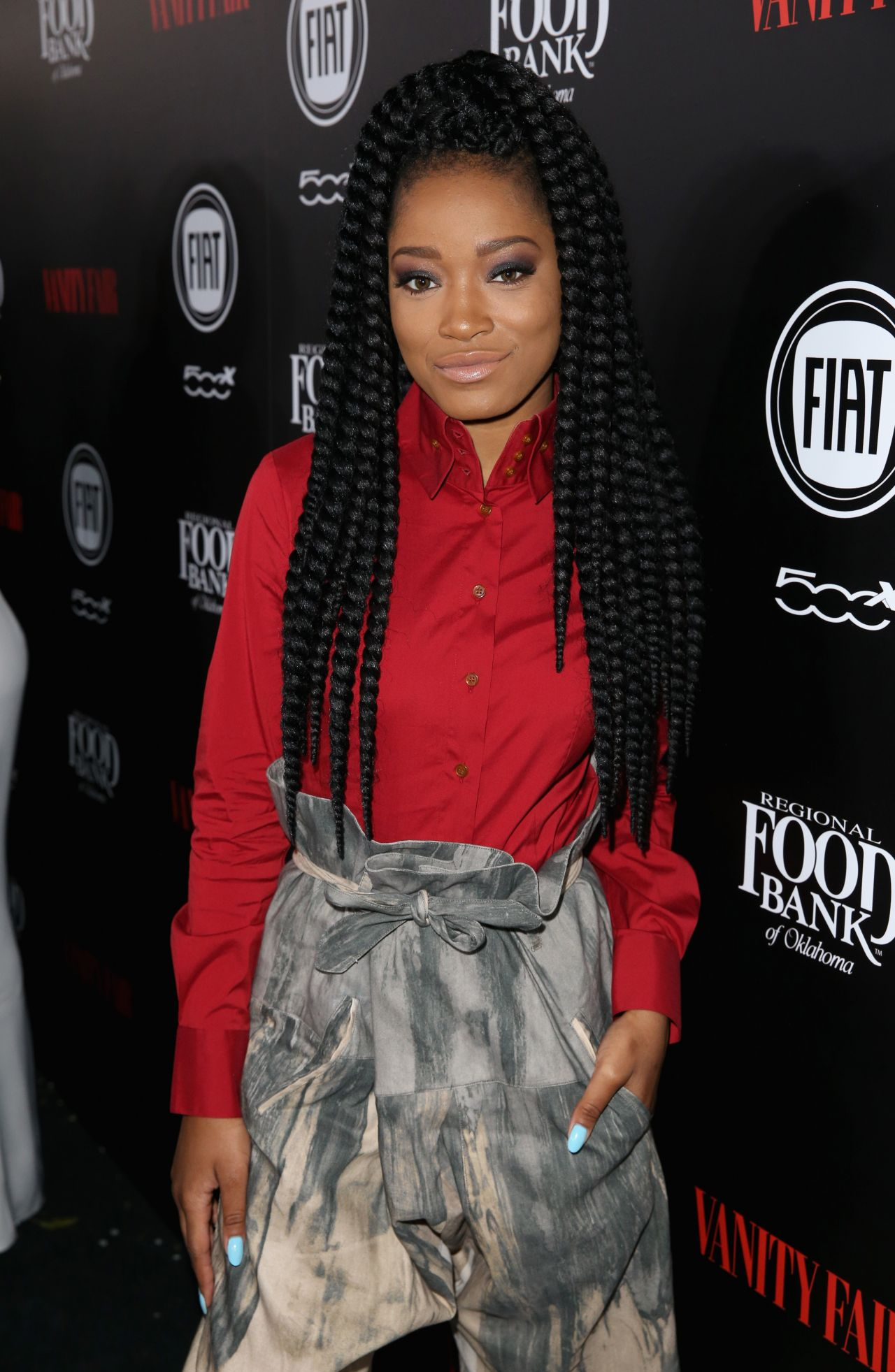 Pleasant Palmer Vanity Fair And Fiat Young Hollywood Celebration In Los Short Hairstyles For Black Women Fulllsitofus
