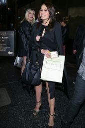 Kelli Berglund Night Out Style - at Katsuya Restaurant in Los Angeles 2/6/2016