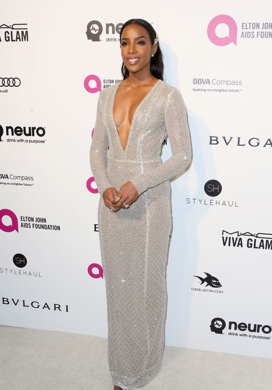 Kelly Rowland – 2016 Elton John AIDS Foundation's Oscar Viewing Party in West Hollywood, CA