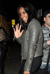 Kelly Rowland Night Out Style - Out for Dinner in Los Angeles, CA 1/30/2016
