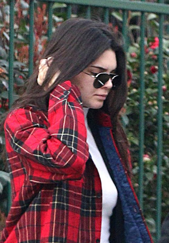 Kendall Jenner - Leaving Her Hotel in Milan, Italy 2/24/2016