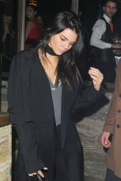 Kendall Jenner Night Out - Sexy Fish Restaurant in London 2/22/2016
