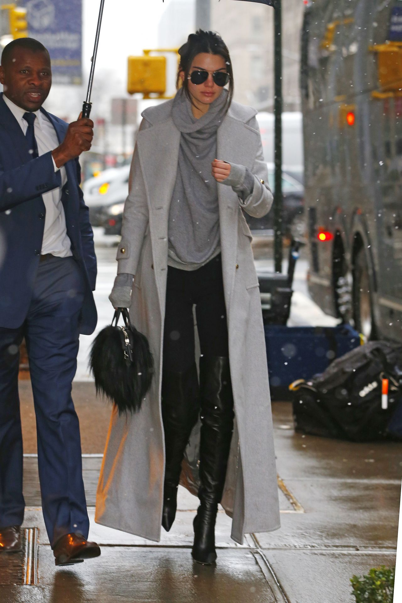 Kendall Jenner Street Fashion Out In Nyc 2 5 2016