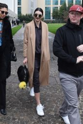 Kendall Jenner Style and Fashion Inspirations - Out in Milan 2/27/2016