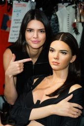 Kendall Jenner - Visits Her New Wax Figure at Madame Tussauds in London 2/23/2016
