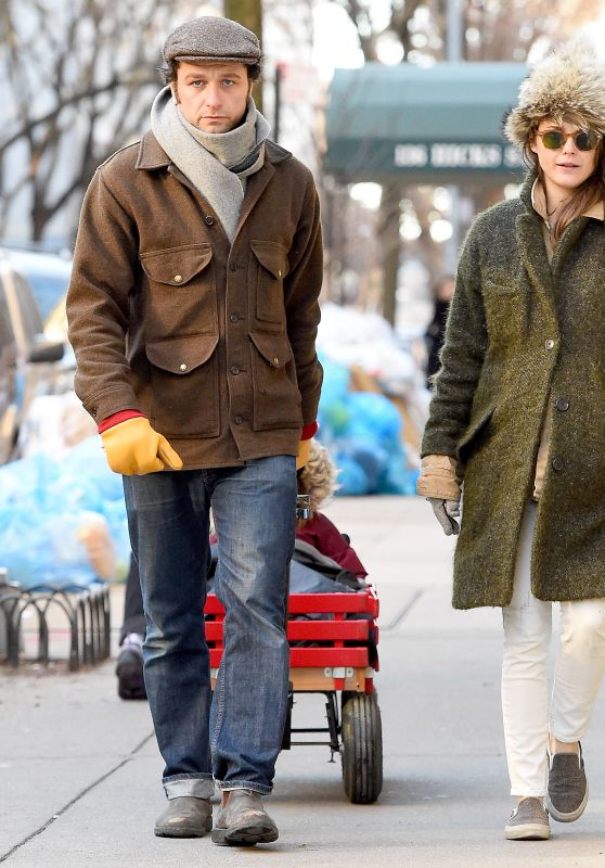 Keri Russell Winter Style - Out in Brooklyn, February 2016