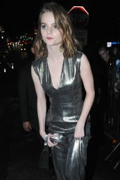 Kerris Dorsey Night Out Style - at the Chateau Marmont in West Hollywood, February 2016