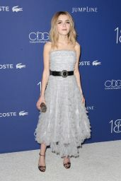 Kiernan Shipka – Costume Designers Guild Awards 2016 with LACOSTE in Beverly Hills