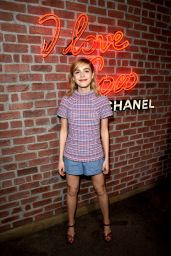 Kiernan Shipka - I Love Coco Backstage Beauty Lounge in Hollywood 2/25/2016
