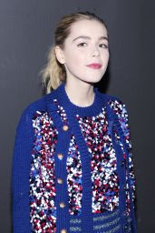 Kiernan Shipka - Marc Jacobs Fall 2016 Fashion Show - NYFW 2/18/2016