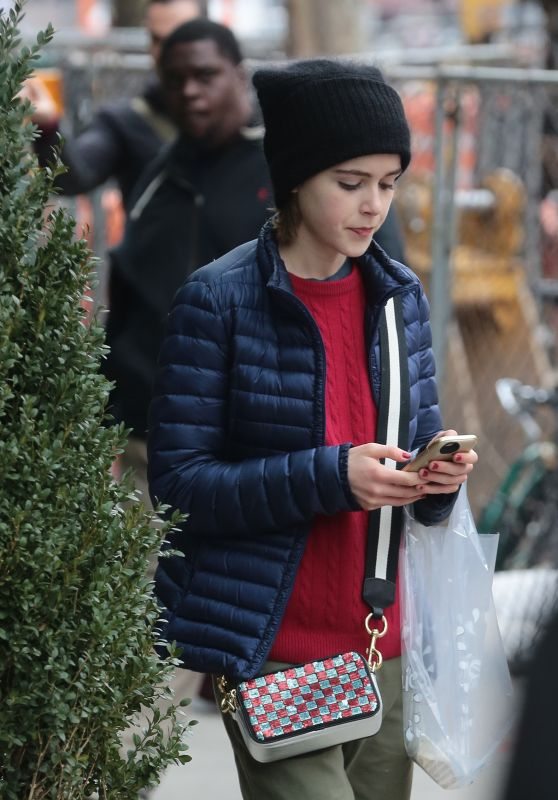 Kiernan Shipka - Out in New York City 2/20/2016